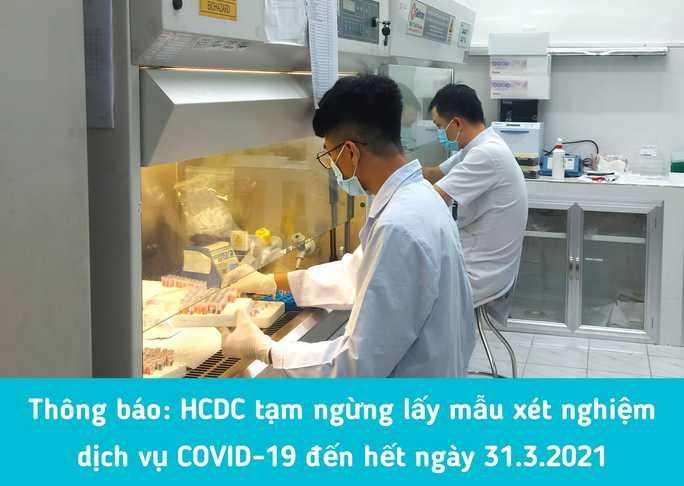 Vì sao TP HCM tạm ngừng lấy mẫu xét nghiệm dịch vụ Covid-19? - Ảnh 1.