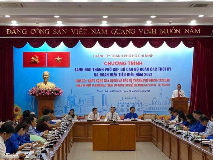 Bí thư Nguyễn Văn Nên muốn tuổi trẻ TP HCM khởi nghiệp mạnh mẽ hơn - Ảnh 3.