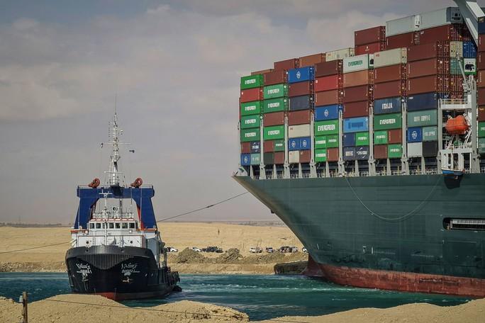 Toàn cảnh giải cứu siêu tàu mắc cạn trên kênh đào Suez - Ảnh 6.