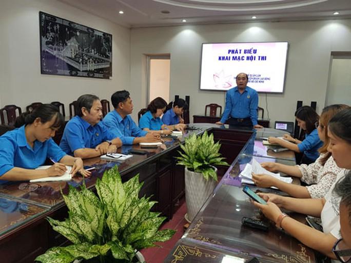 Khởi động hội thi CNVC-LĐ với ngày hội non sông - Ảnh 1.