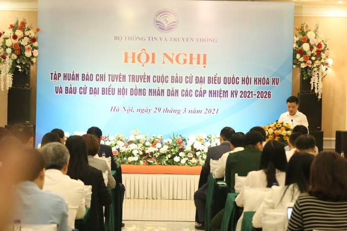 Tập huấn báo chí tuyên truyền về bầu cử đại biểu Quốc hội và đại biểu HĐND các cấp - Ảnh 3.