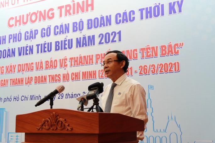 Bí thư Nguyễn Văn Nên muốn tuổi trẻ TP HCM khởi nghiệp mạnh mẽ hơn - Ảnh 1.