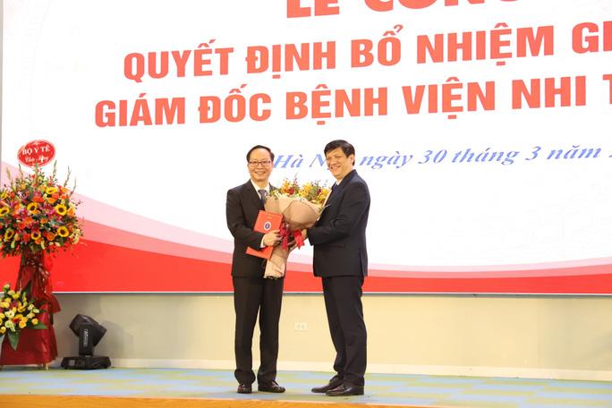 Bệnh viện Nhi Trung ương có giám đốc mới - Ảnh 1.