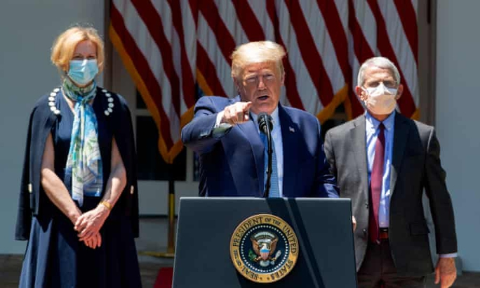 Đang ở ẩn, ông Trump nổi trận lôi đình - Ảnh 1.