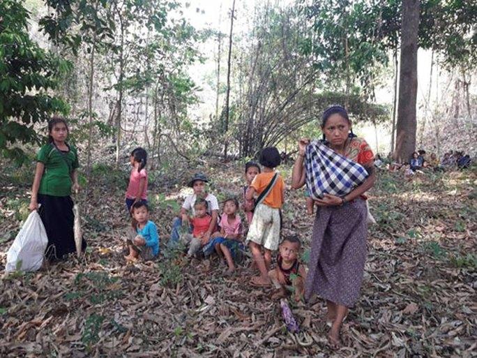 Báo động làn sóng tị nạn từ Myanmar - Ảnh 1.