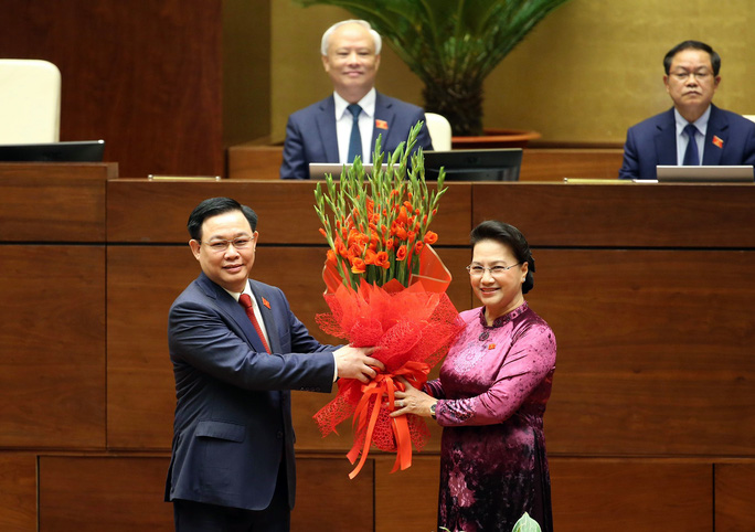 Tân Chủ tịch Quốc hội Vương Đình Huệ bắt đầu điều hành kỳ họp thứ 11 của Quốc hội khóa XIV - Ảnh 2.