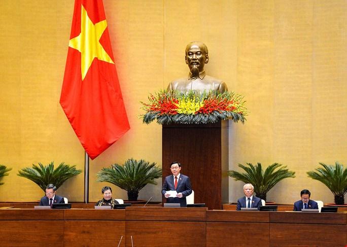 Tân Chủ tịch Quốc hội Vương Đình Huệ bắt đầu điều hành kỳ họp thứ 11 Quốc hội khóa XIV - Ảnh 3.