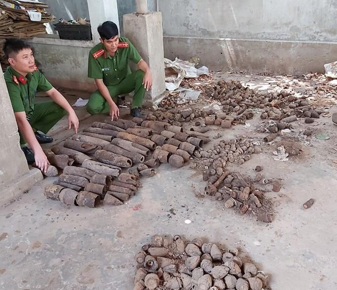 Đà Nẵng: Một năm thu hồi 287 khẩu súng, hàng trăm đầu đạn, vật liệu nổ - Ảnh 3.