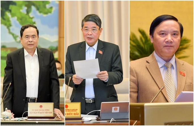 Các ông Trần Thanh Mẫn, Nguyễn Đức Hải, Nguyễn Khắc Định giữ chức Phó Chủ tịch Quốc hội - Ảnh 1.