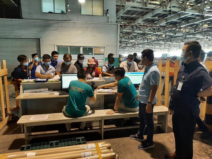 Rút ngắn thời gian thông quan hàng hóa tại sân bay Tân Sơn Nhất - Ảnh 1.