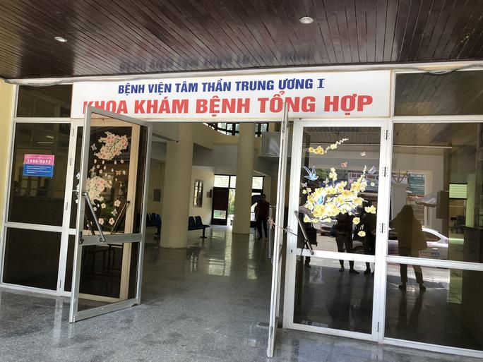 Bộ Y tế tạm đình chỉ Giám đốc BV Tâm thần sau vụ bệnh nhân cầm đầu đường dây ma túy - Ảnh 1.