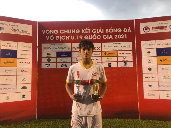Quốc Việt tỏa sáng, giúp Học Viện NutiFood vào bán kết Giải U19 quốc gia - Ảnh 3.