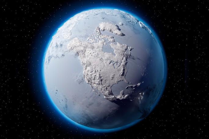 Sốc: Trái Đất từng biến thành màu trắng, mất hết oxy - Ảnh 1.