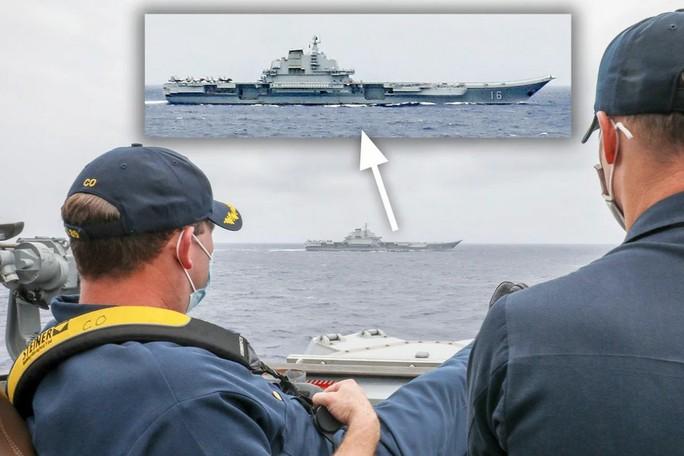 Biển Đông chật chội tàu sân bay Mỹ - Trung - Ảnh 5.