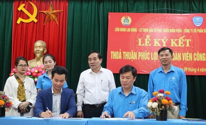 Hà Nội: Hợp tác chăm lo phúc lợi đoàn viên - Ảnh 1.