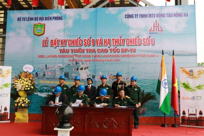 Hạ thủy 2 tàu tuần tra cao tốc trong gói tín dụng quốc phòng của Ấn Độ - Ảnh 6.