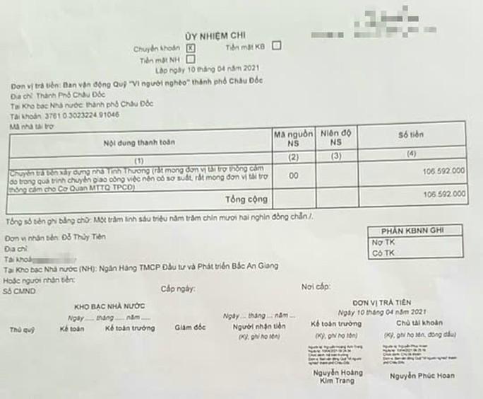 Lãnh đạo TP Châu Đốc lý giải việc trả 106 triệu đồng cho ông Đoàn Ngọc Hải - Ảnh 2.