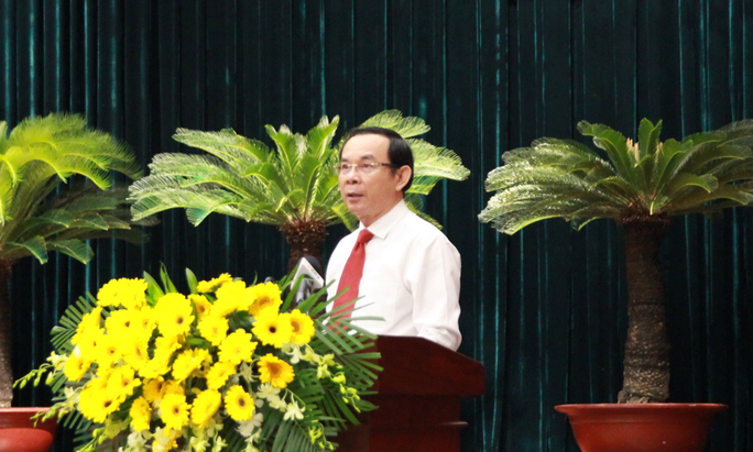 Hội nghị lần thứ 5 Ban Chấp hành Đảng bộ TP HCM khóa XI bàn nhiều việc quan trọng - Ảnh 1.