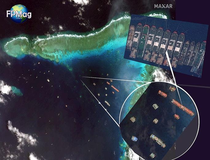 Hơn 200 tàu Trung Quốc vẫn gây rối trên biển Đông - Ảnh 1.