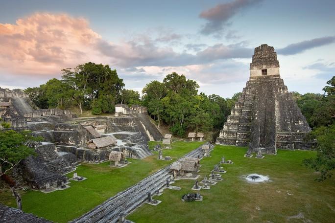 Thứ lạ lùng nhất thành cổ Maya: như xuyên không từ thời hiện đại - Ảnh 1.