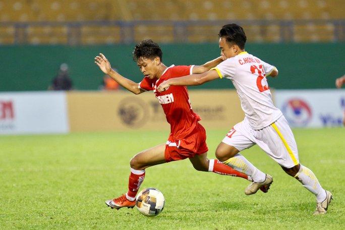 Thua thảm trước PVF, U19 NutiFood tiếp tục về nhì Giải U19 quốc gia - Ảnh 1.
