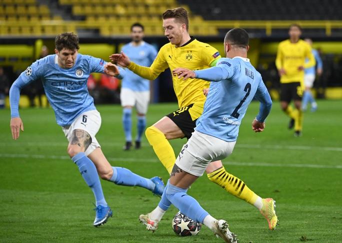 Champions League: Man City ngược dòng đẳng cấp hạ Dortmund, đoạt vé bán kết  - Ảnh 1.