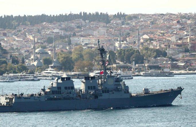 Nga tập trận trên biển Đen, Mỹ hủy kế hoạch triển khai tàu chiến? - Ảnh 1.