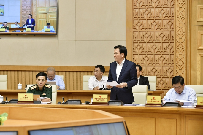 Chùm ảnh Chính phủ họp phiên đầu tiên sau khi kiện toàn - Ảnh 4.