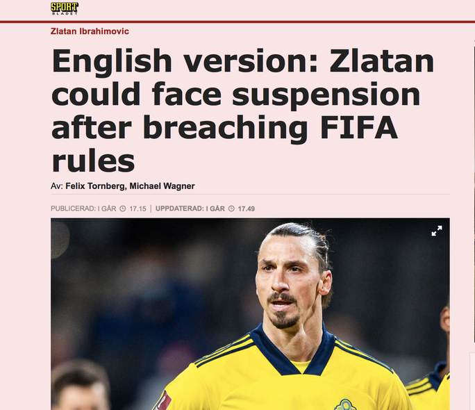 Kinh doanh cá cược, Zlatan Ibrahimovic lo bị hủy hoại sự nghiệp - Ảnh 3.