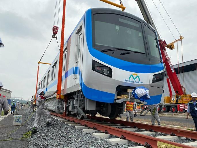 Tháng 5, thêm đoàn tàu metro về TP HCM - Ảnh 1.