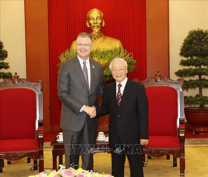Tổng Bí thư Nguyễn Phú Trọng mời Tổng thống Mỹ Joe Biden sớm thăm Việt Nam - Ảnh 2.