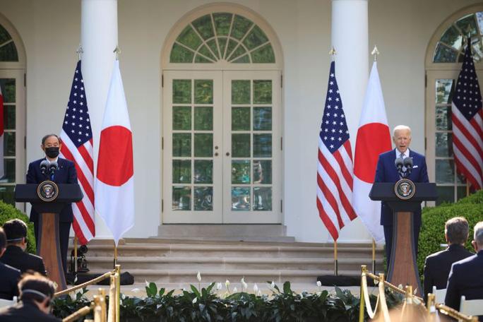 Mỹ - Nhật ra tuyên bố chung về eo biển Đài Loan - Ảnh 1.