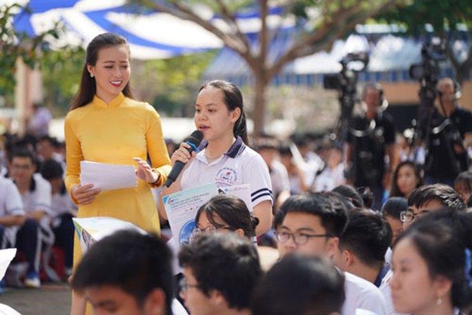 Đưa trường học đến thí sinh tại Bà Rịa - Vũng Tàu: Chọn đúng ngành học ngay từ đầu - Ảnh 1.