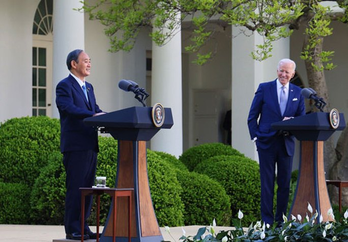 Trung Quốc phản ứng tuyên bố chung Mỹ - Nhật - Ảnh 1.