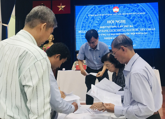 TP HCM thông qua danh sách giới thiệu 38 người ứng cử đại biểu Quốc hội - Ảnh 2.