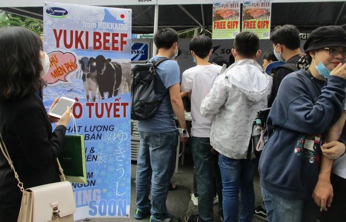 Xếp hàng dài chờ thưởng thức bò tuyết, sô cô la... tại Lễ hội Nhật - Việt - Ảnh 6.