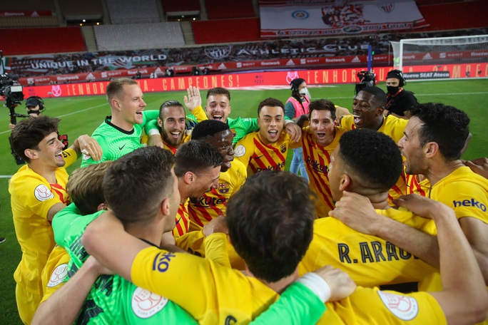 Cúp Nhà vua: 12 phút rực sáng chung kết, Barcelona lên ngôi vô địch  - Ảnh 7.
