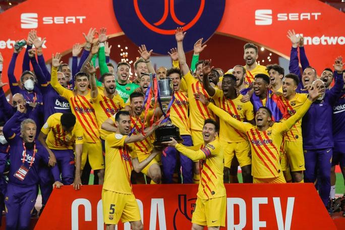 Cúp Nhà vua: 12 phút rực sáng chung kết, Barcelona lên ngôi vô địch  - Ảnh 8.