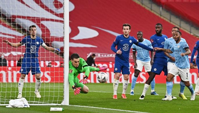 Man City tan giấc mộng ăn 4, Chelsea đoạt vé chung kết FA Cup - Ảnh 6.