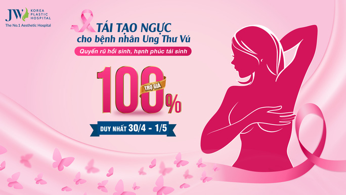 Tái tạo ngực miễn phí cho bệnh nhân ung thư vú - Ảnh 1.