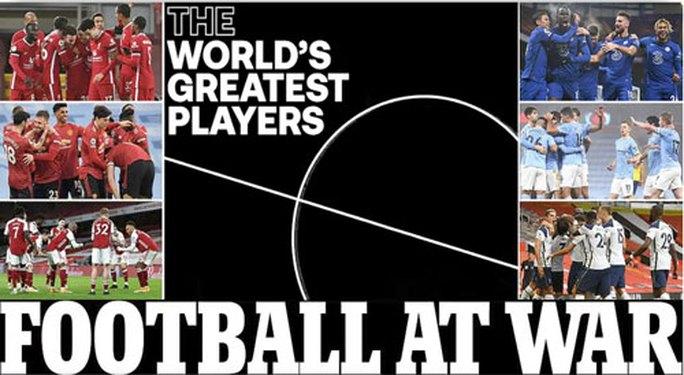 Bóng đá châu Âu chao đảo với Super League - Ảnh 1.