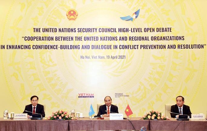 Chủ tịch nước Nguyễn Xuân Phúc chủ trì phiên họp quan trọng của Hội đồng Bảo an - Ảnh 3.