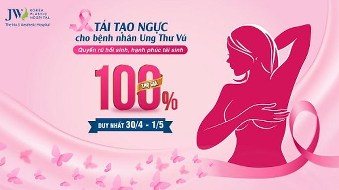 Tái tạo ngực miễn phí cho bệnh nhân ung thư vú - Ảnh 5.