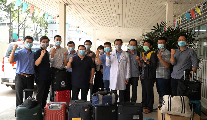 Đội phản ứng nhanh Bệnh viện Chợ Rẫy xuống Kiên Giang hỗ trợ chống dịch Covid-19 - Ảnh 2.
