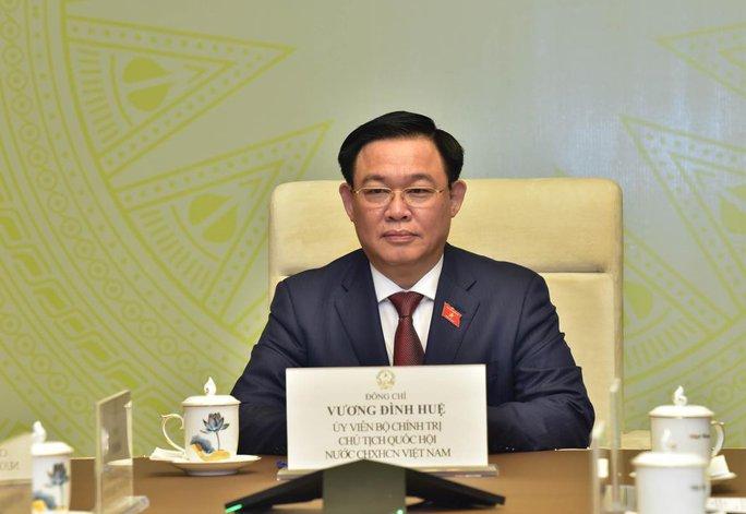 Cuộc điện đàm đầu tiên của Chủ tịch Quốc hội Vương Đình Huệ - Ảnh 1.