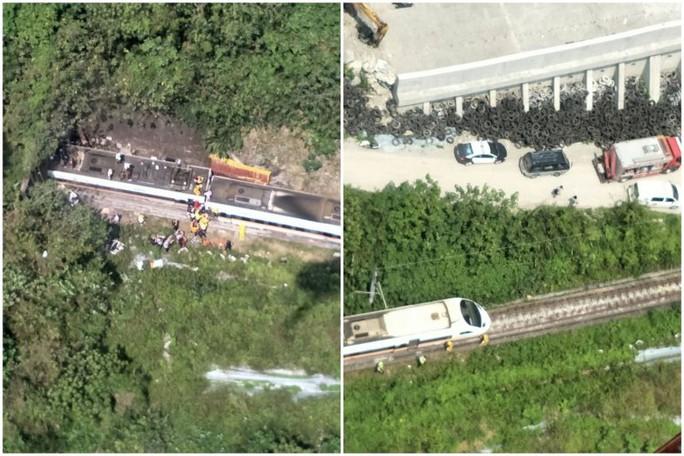 Hé lộ nguyên nhân khiến tàu trật đường ray ở Đài Loan - Ảnh 2.