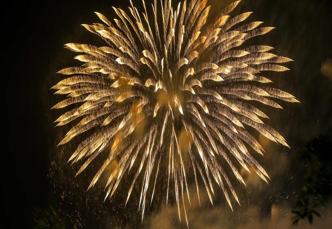 CLIP: Hàng vạn người dân đổ về xem bắn pháo hoa tại Lễ giỗ Tổ Hùng Vương - Ảnh 14.