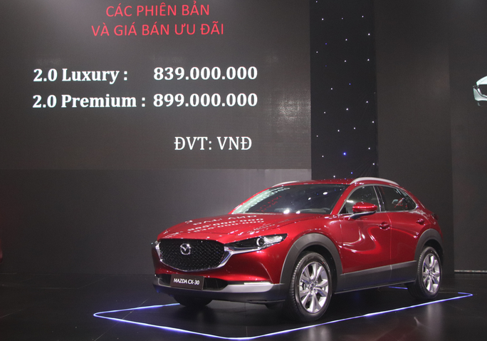 THACO ra mắt xe Mazda CX-30 thế hệ mới đẳng cấp, giá 839 triệu đồng - Ảnh 4.