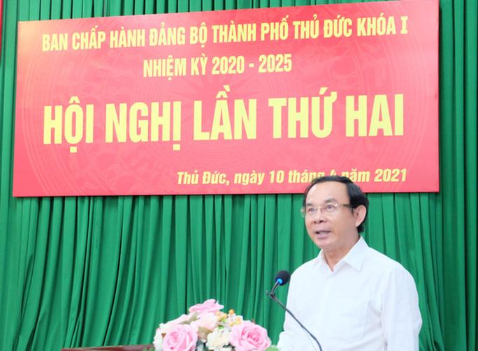 Bí thư Nguyễn Văn Nên: Cấp bách đề xuất cơ chế đặc thù cho TP Thủ Đức - Ảnh 1.