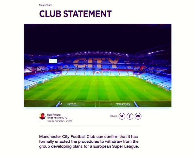 6 CLB Anh tuyên bố rời bỏ Super League, sếp Man United từ chức - Ảnh 1.